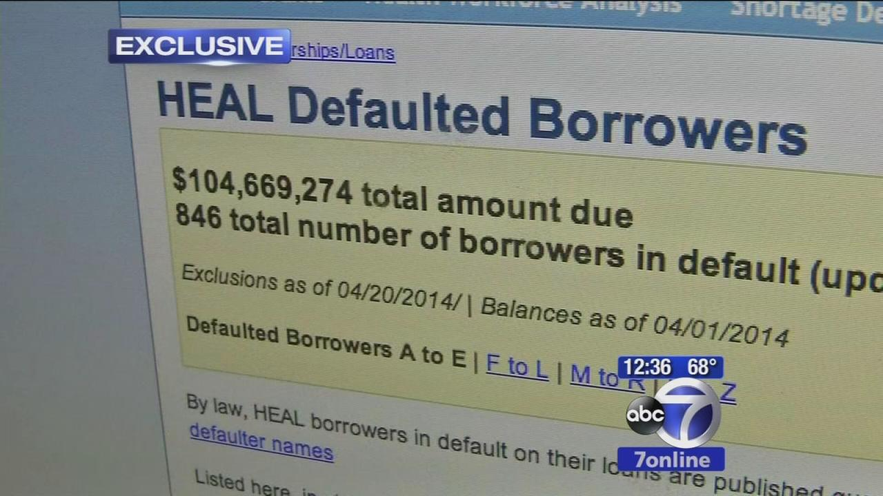 Deadbeat doctors owe millions in student loans