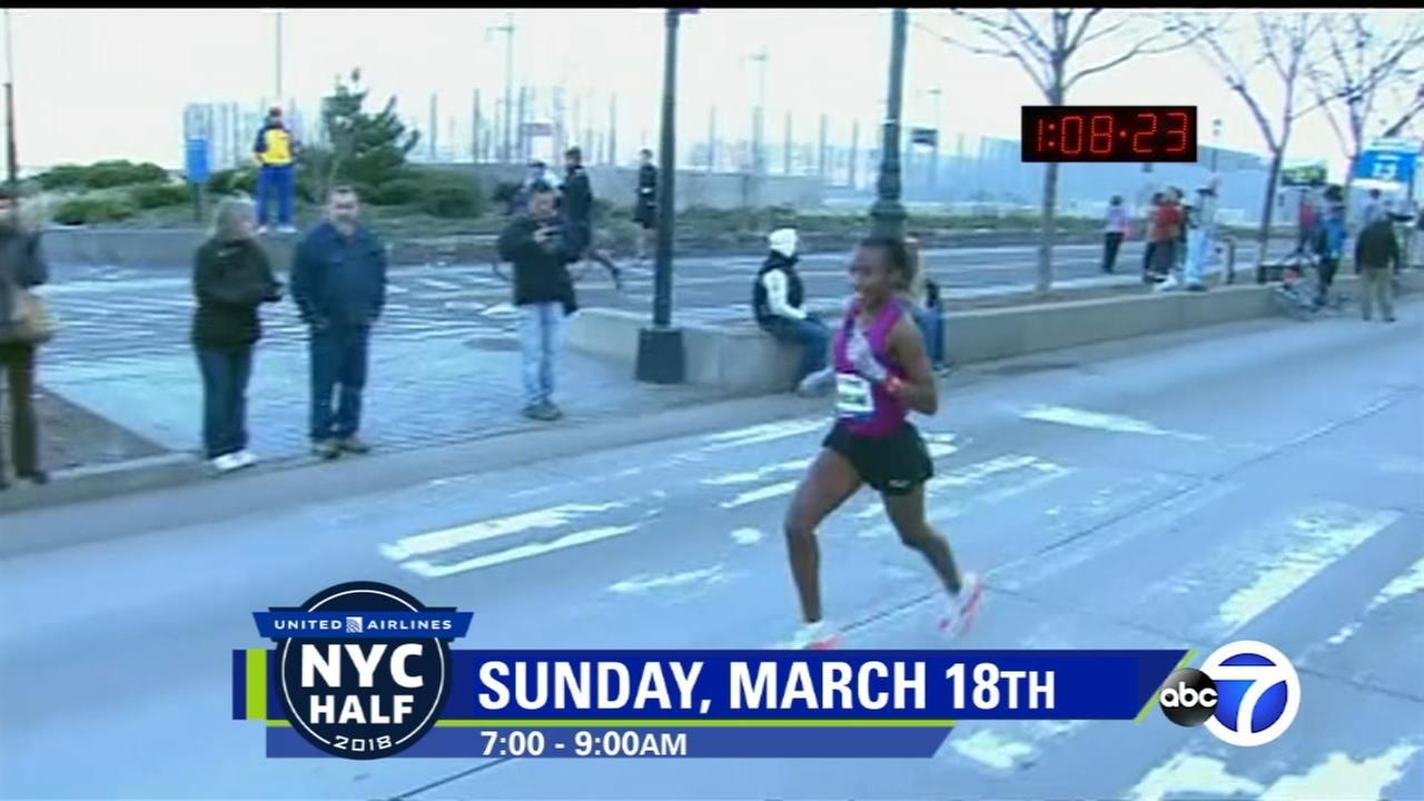 NYC Half Marathon Moments: