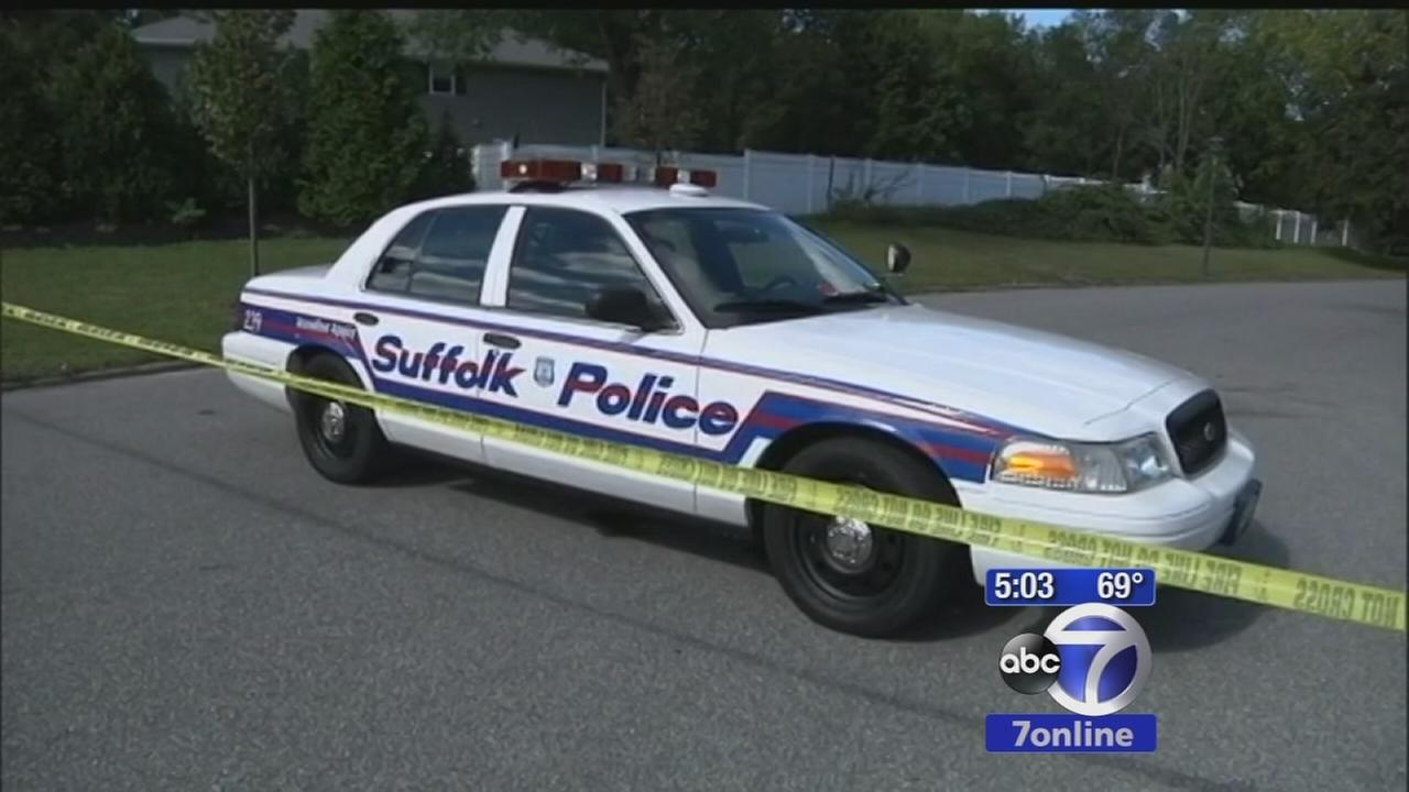 Suffolk County officer injured after struck by car during traffic stop