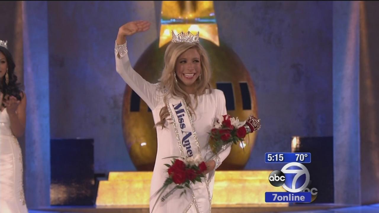 Miss America tries to set record straight on hazing story