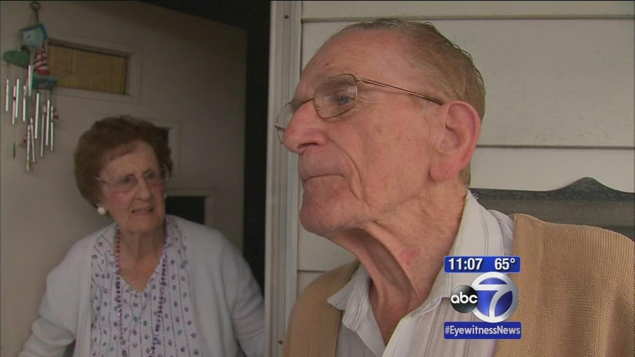 Elderly man scares away robbers from home