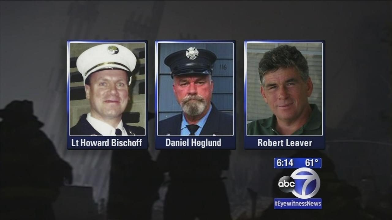 3 firefighters died from 9/11 injuries