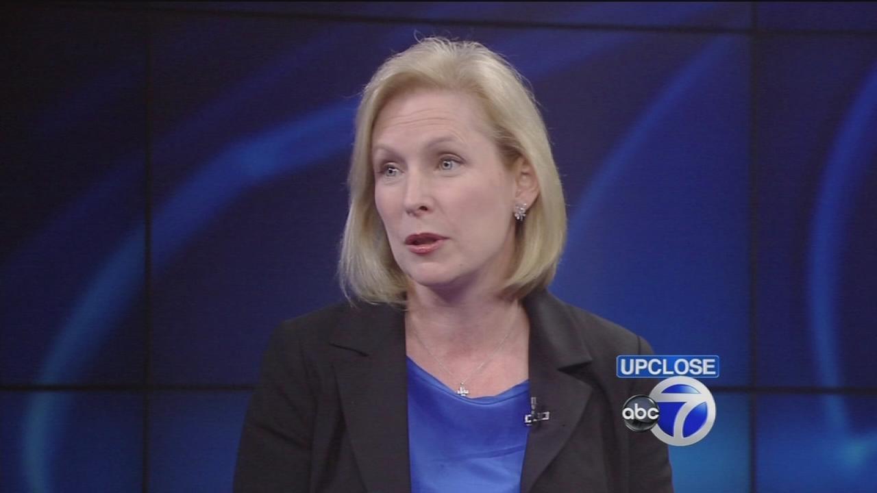 Up Close: Sen. Kirsten Gillibrand
