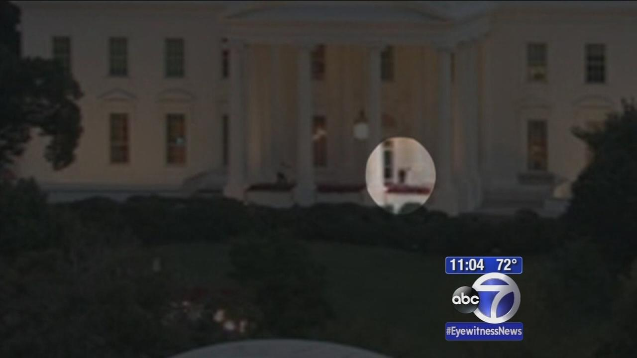 Fence jumper at White House got far past front door