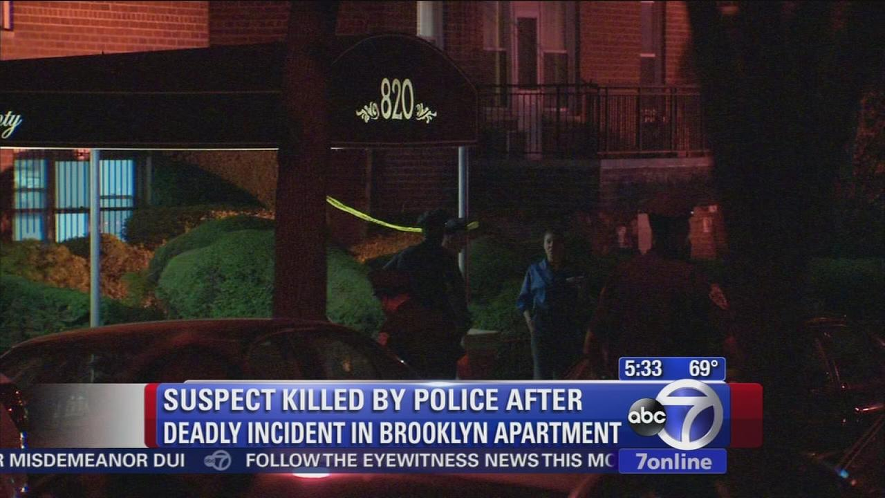 Investigation of police-involved shooting, stabbing in Brooklyn underway