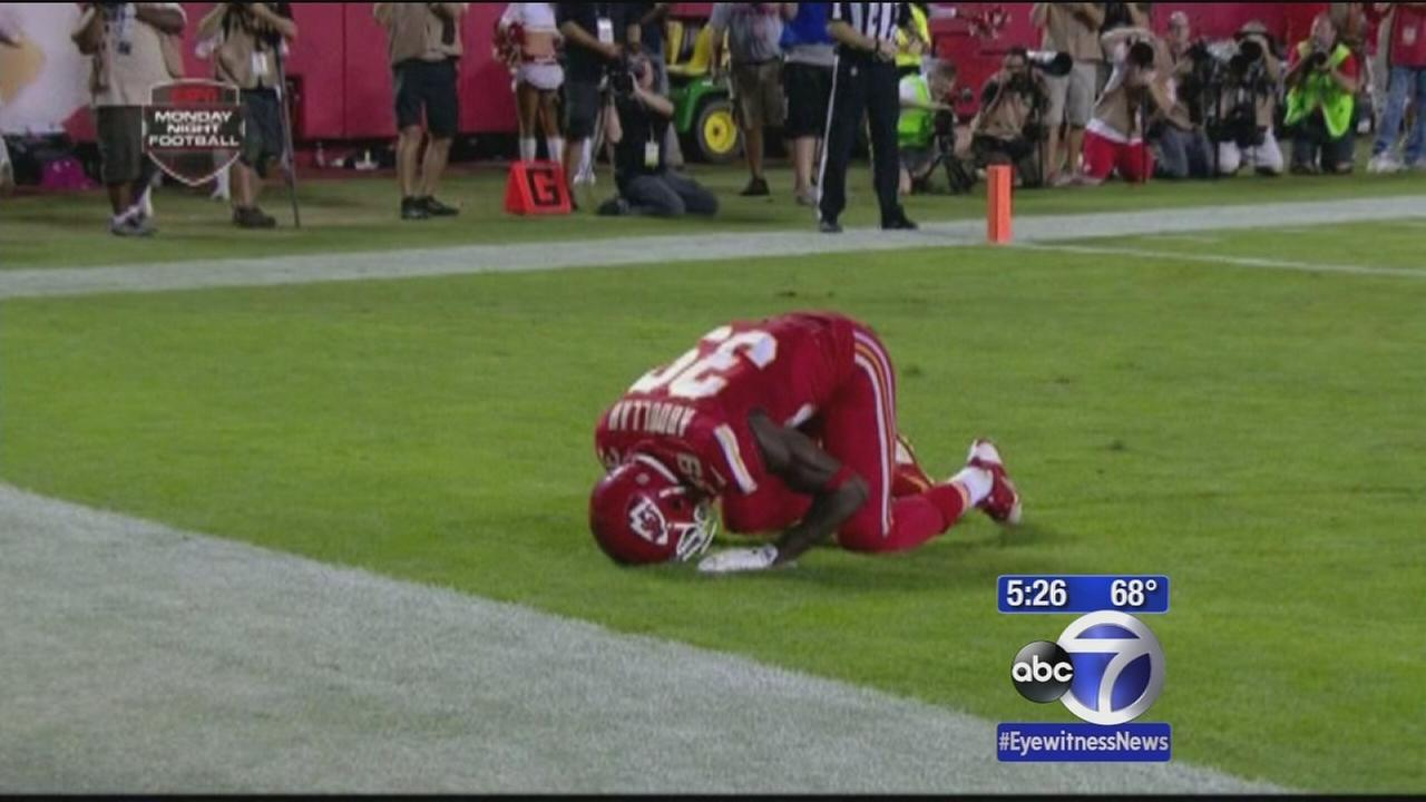 NFL admits mistake in penalizing player for prayer
