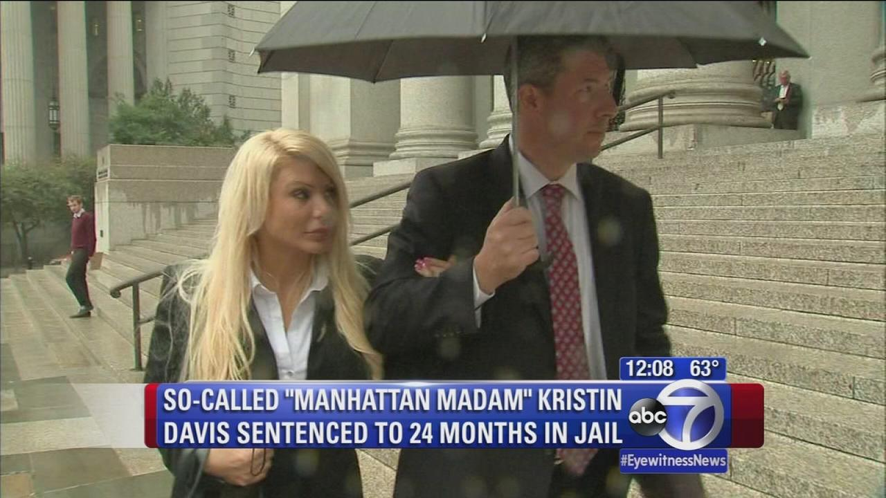 Manhattan Madam sentenced to 2 years