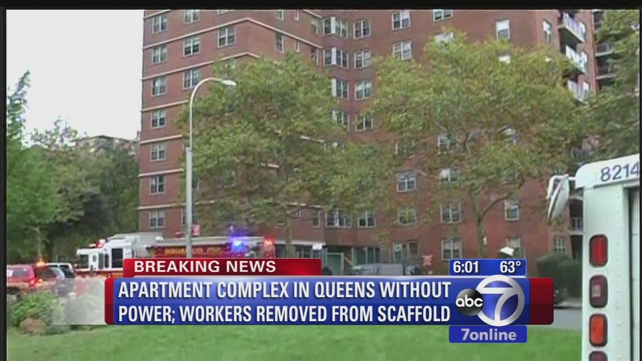 Power restored after outage at Queens apartment complex