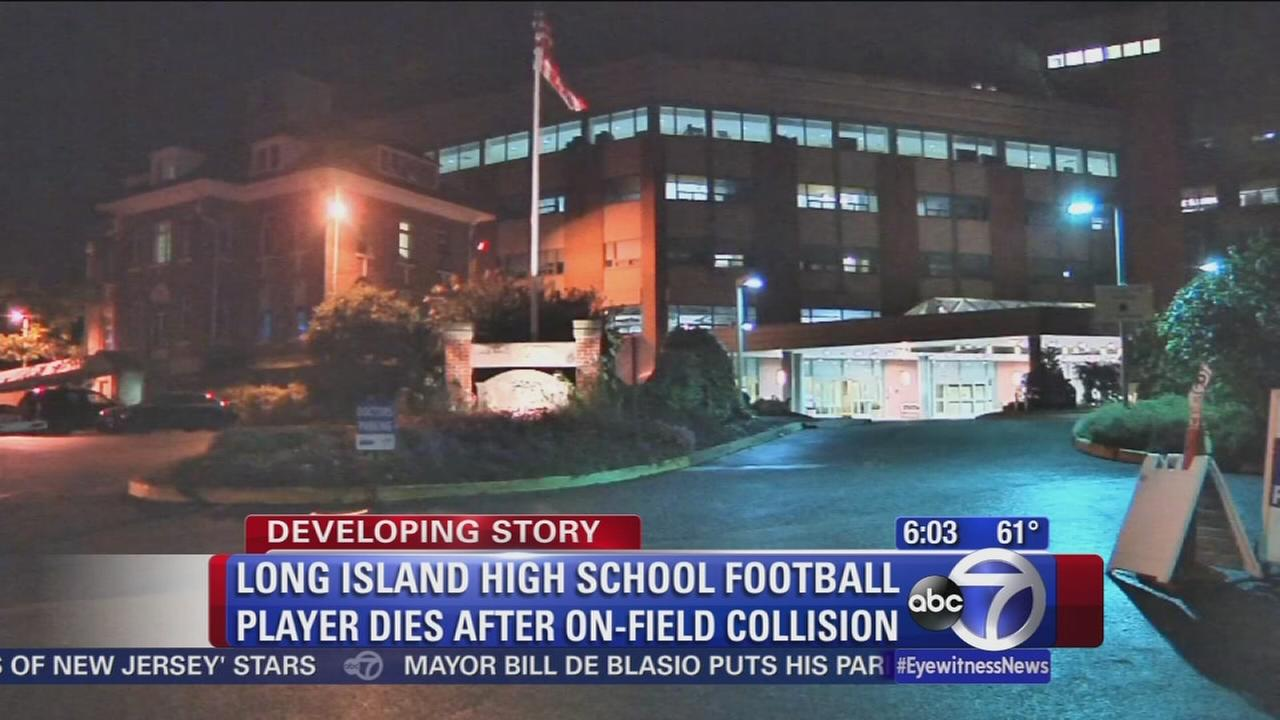 Wading River high school football player dies from game injury