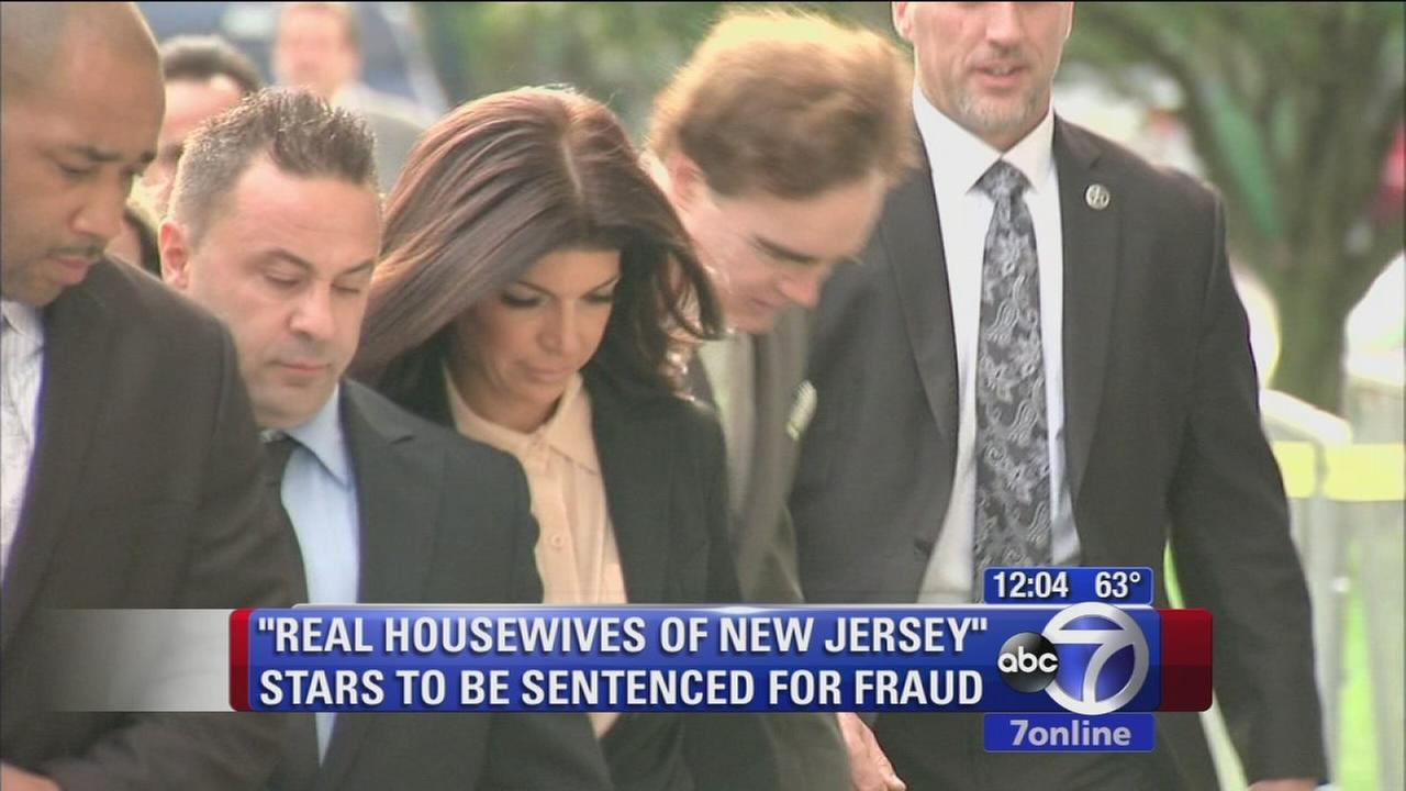 Judge scolds Real Housewives couple during sentencing