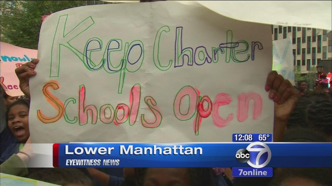 Students, parents rally for better schools in NYC