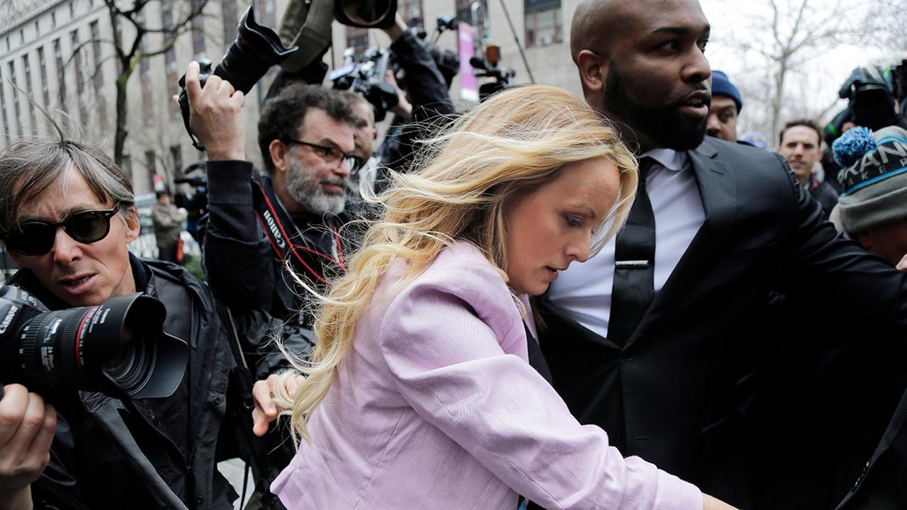 Judge denies Michael Cohen's restraining order over materials seized in raid, Stormy Daniels attends hearing