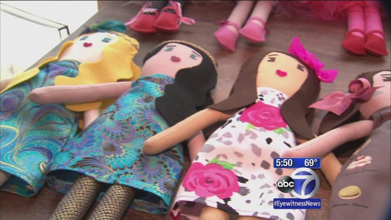 Doll maker gains national attention after celebrities put in orders