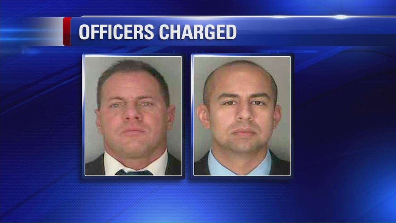 Former Yonkers narcotics officers charged with falsified search warrant