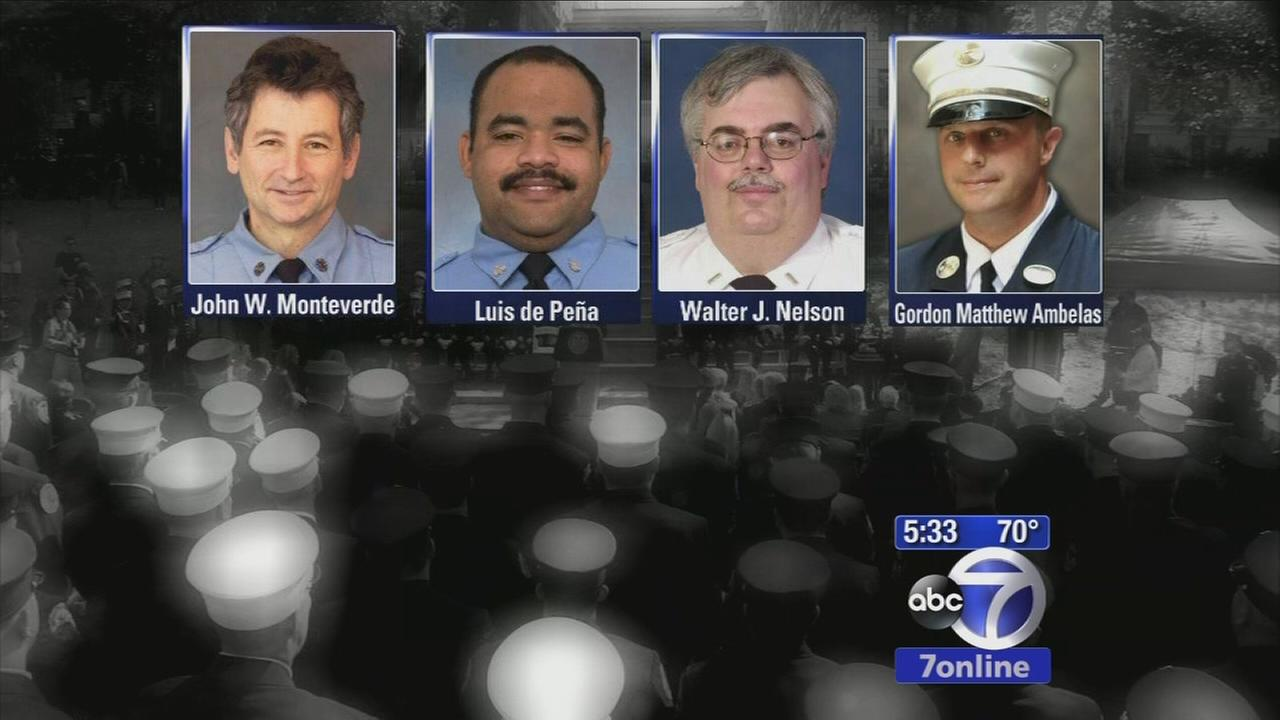 FDNY holds ceremony to honor those lost in the past year