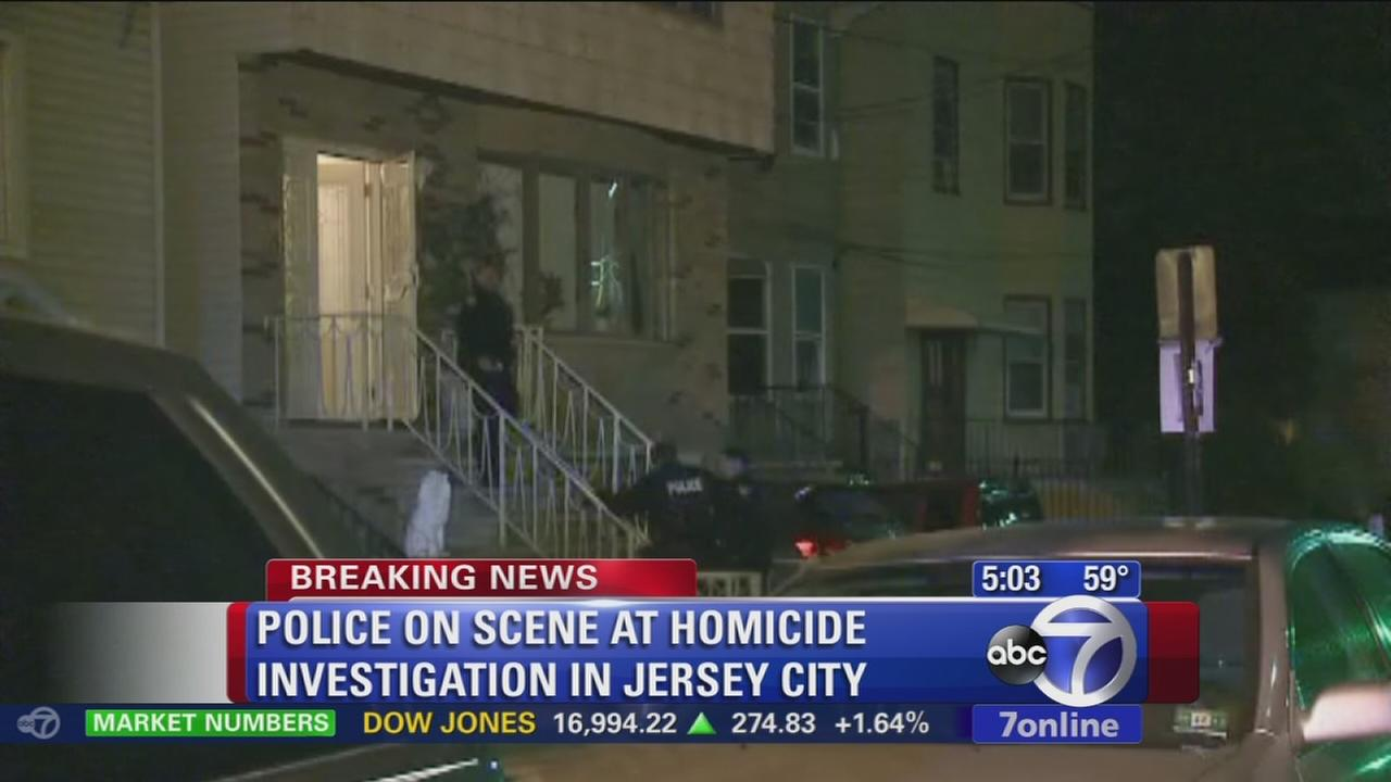 Police investigating apparent homicide in Jersey City