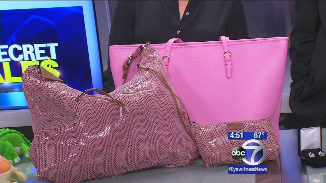 Secret Sales: Filled bagels and selfie prep pouch