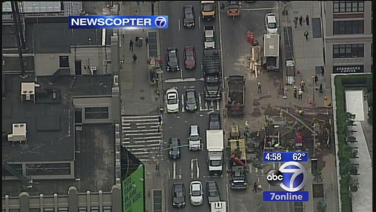 Delays continue at Holland Tunnel as crews repair water main