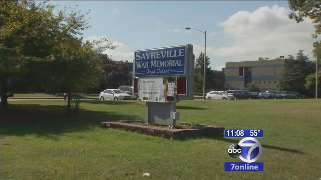 Rally held at Sayreville High School after players arrested on sex charges