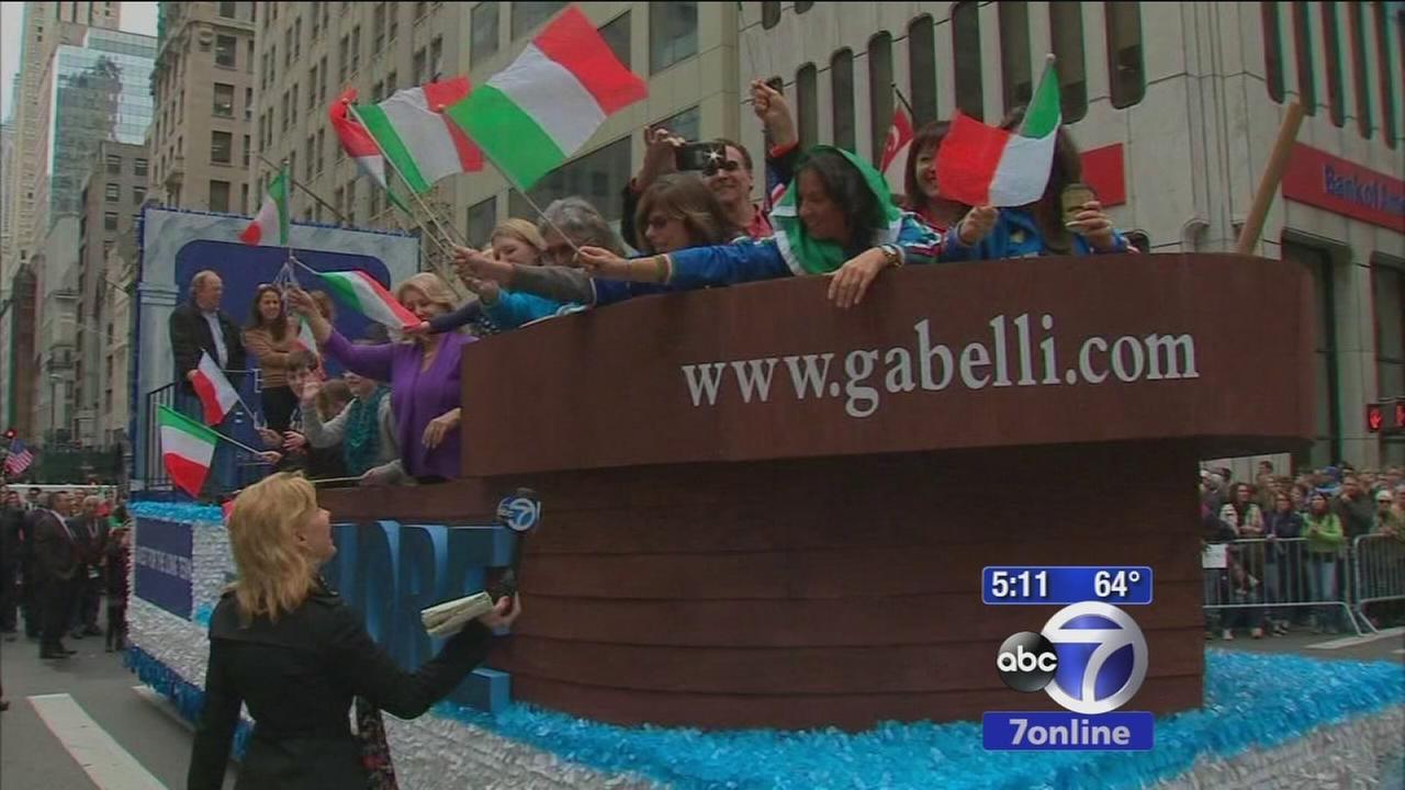Italian-American pride on display along Fifth Avenue
