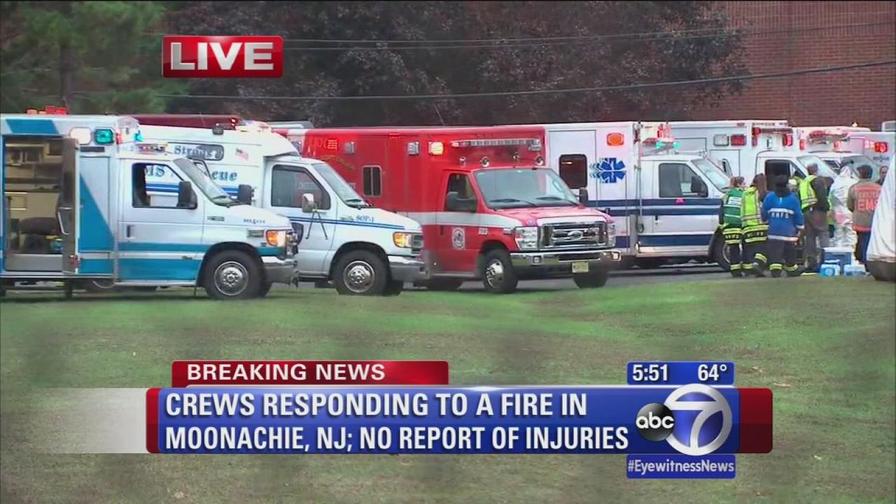 Large fire burned through Moonachie factory after explosion