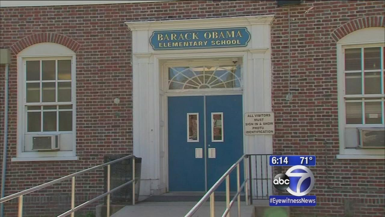 Students, officals ask President Obama to visit namesake school