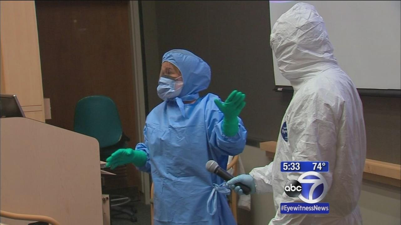 Call to protect local hospital workers from Ebola