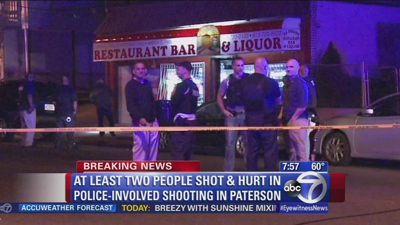2 in custody after early police involved shooting in Paterson