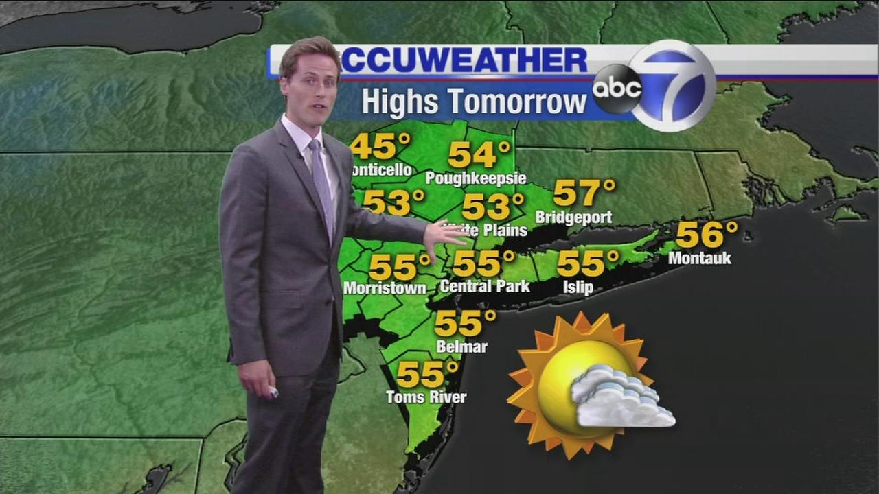 Wakeup Weather: What to expect Sunday