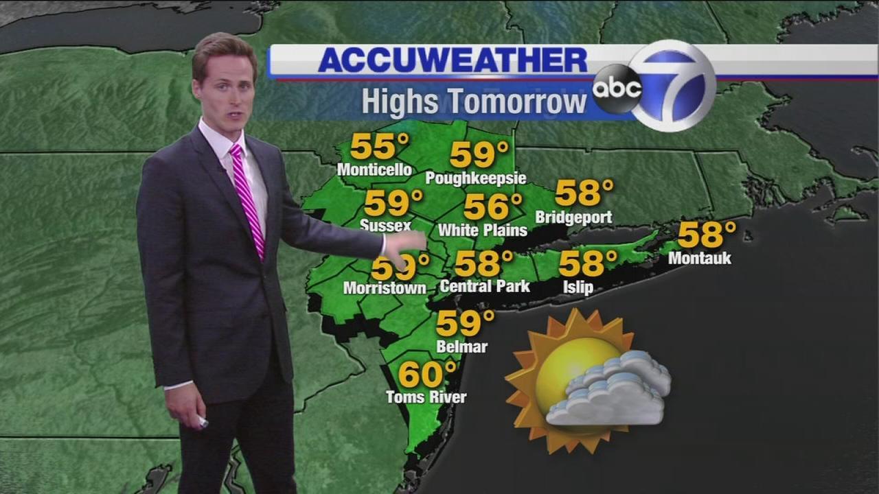 Wakeup Weather: What to Expect Monday