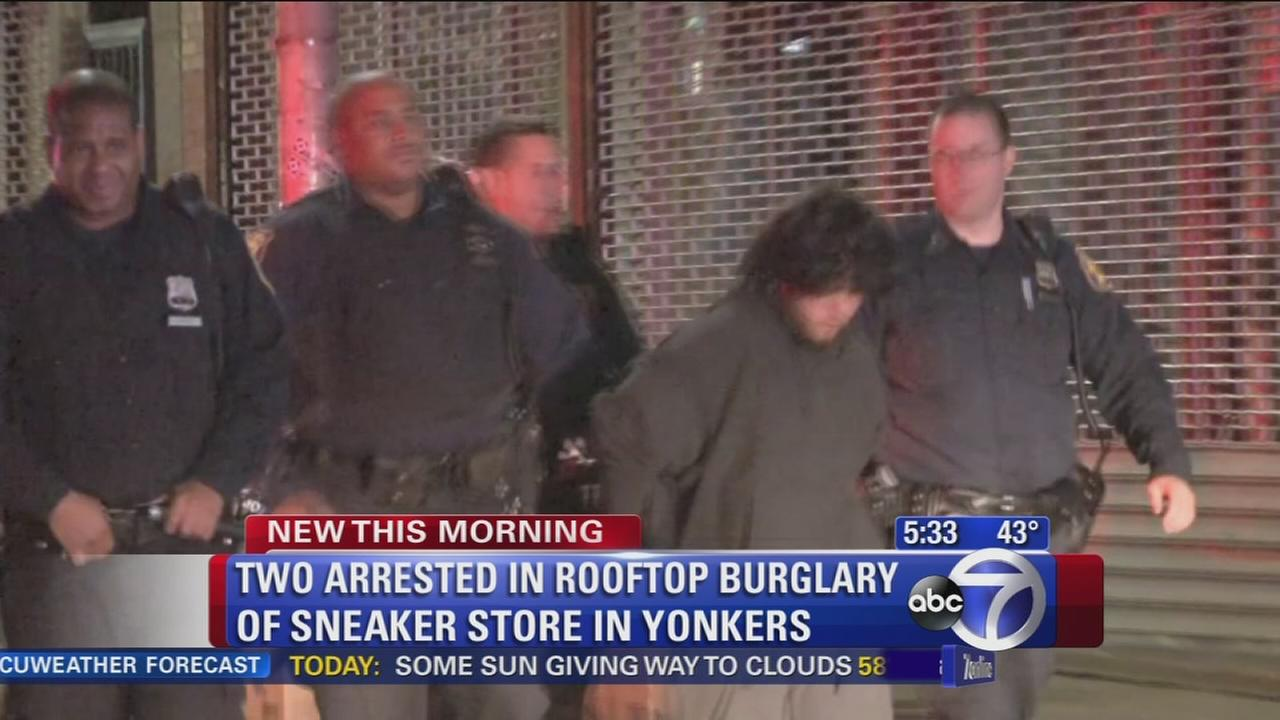 2 arrested for attempted robbery of Yonkers store