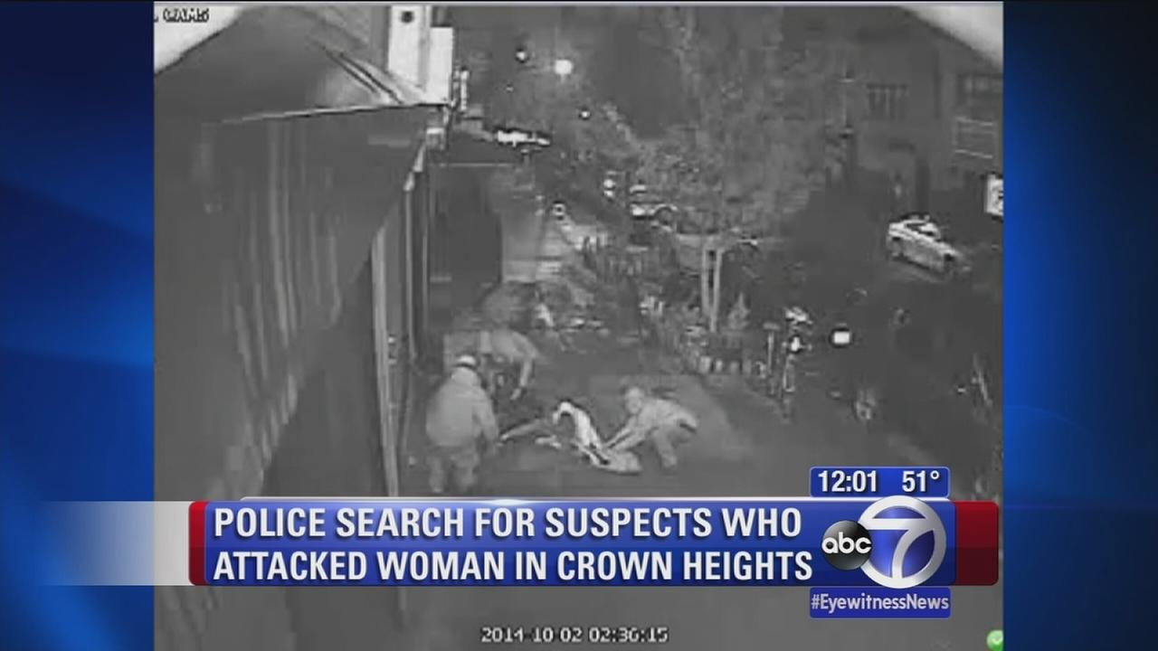 Police seeking suspects in attack of Brooklyn woman