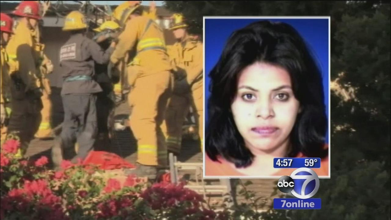 Woman rescued, arrested after stuck in chimney allegedly trying to break into ex-boyfriends house