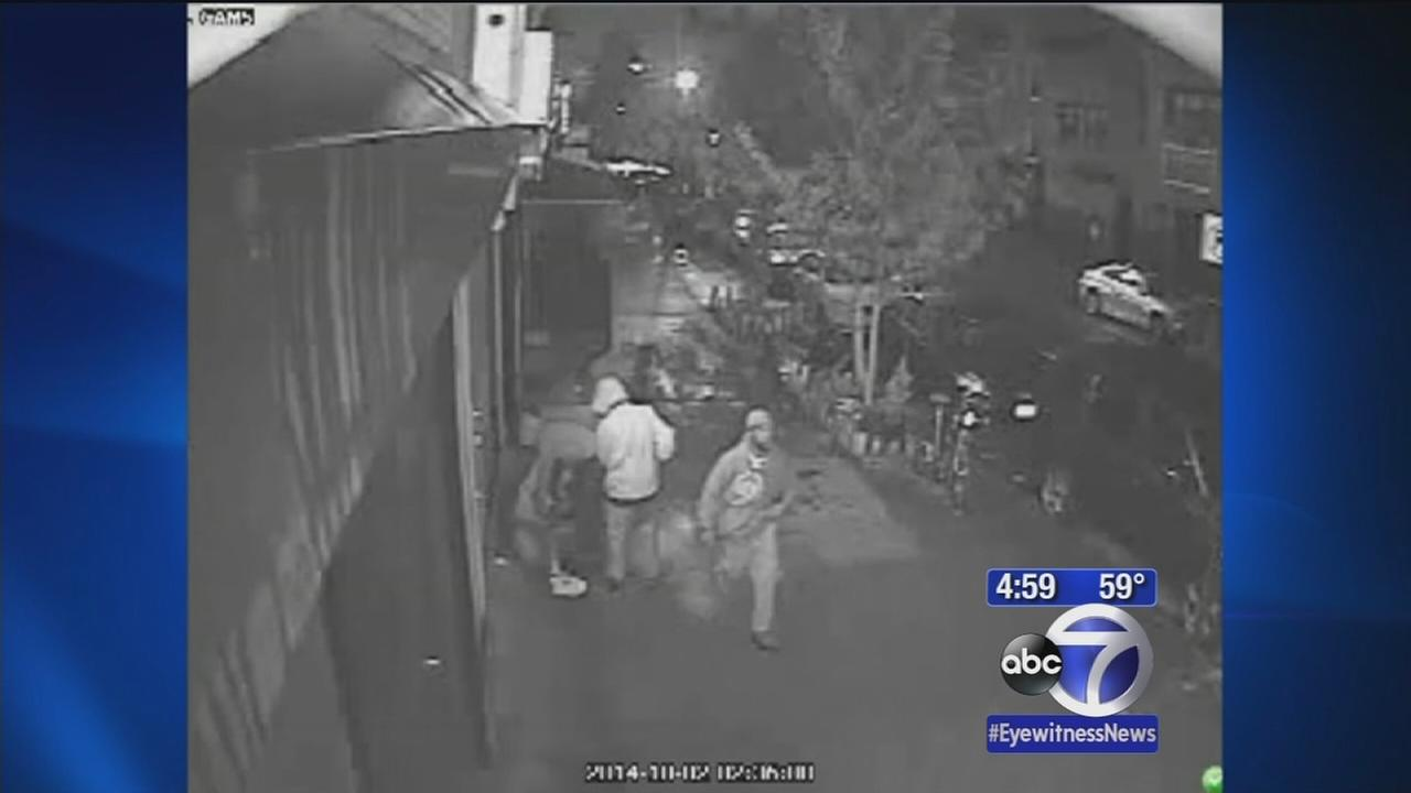 Brooklyn robbery, assault caught on surveillance video