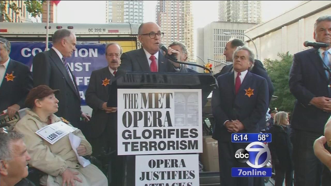 Protest over Met Opera premiere of Death of Klinghoffer