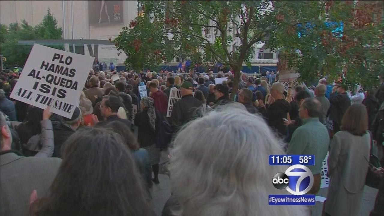 Protests held over Met opera