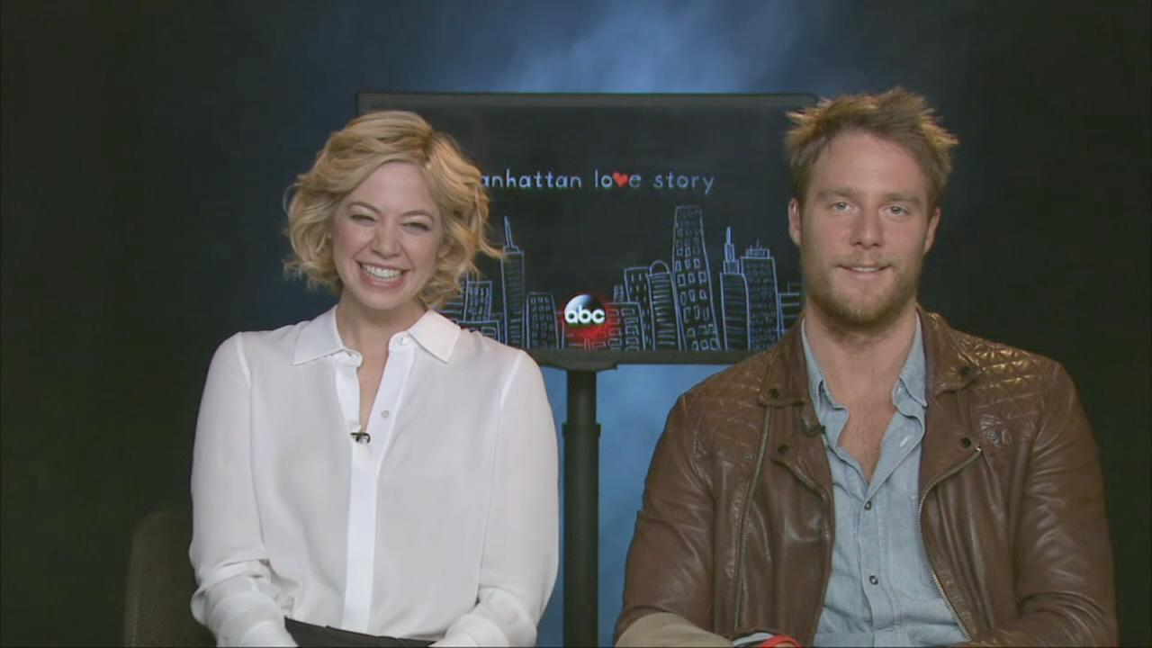 Stars of Manhattan Love Story talk about the show