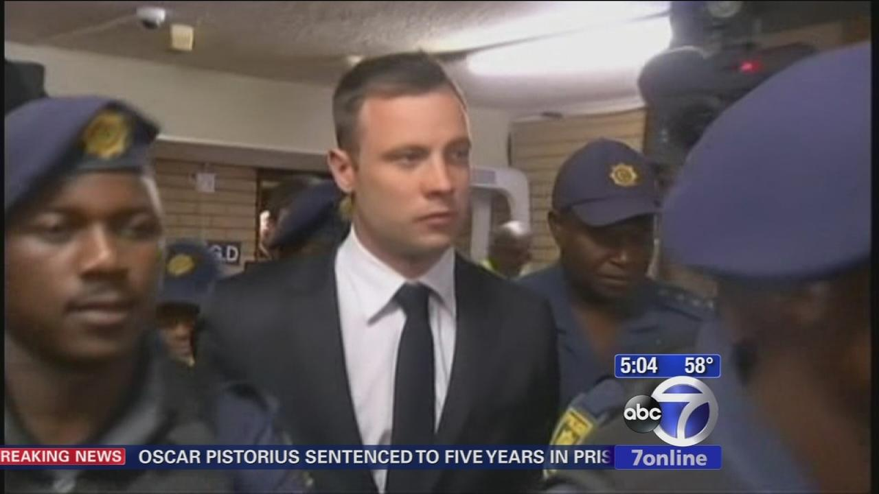 Oscar Pistorius to serve 5 years for shooting detah of girlfriend