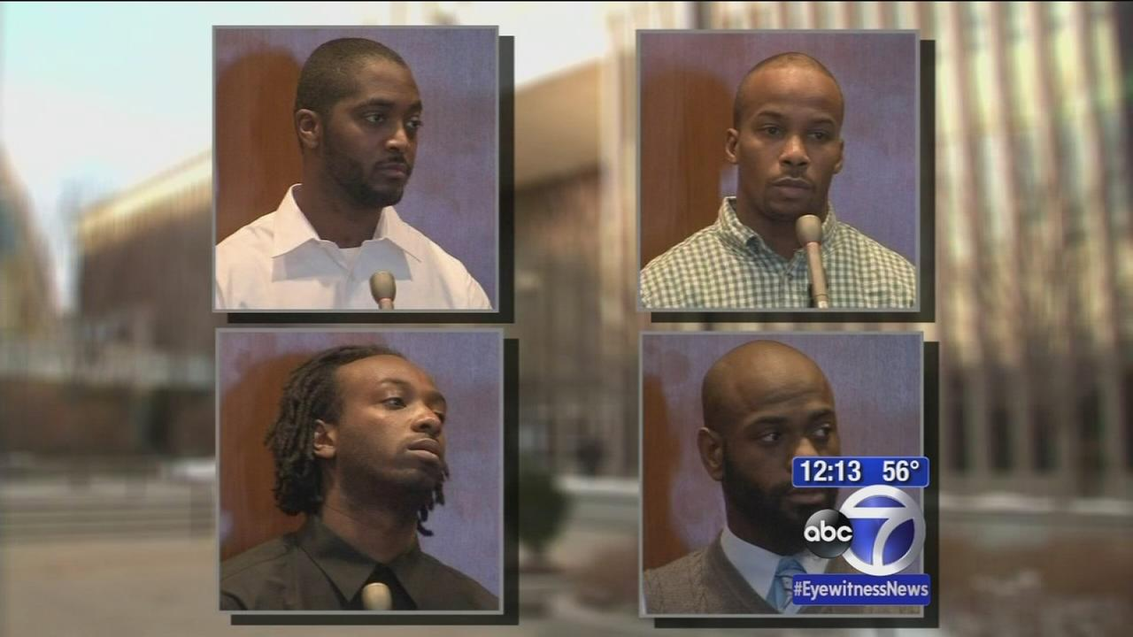 4 plead not guilty at arraignment in mall carjacking murder
