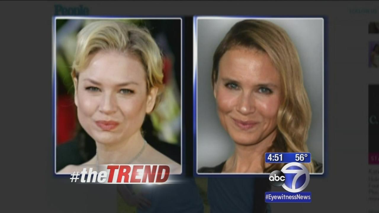 The Trend: Renee Zellwegers new look