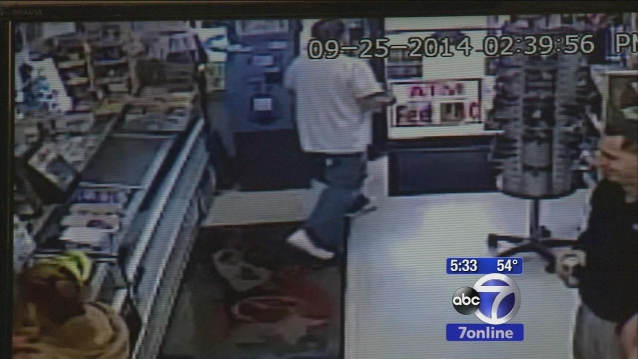 Man caught on camera stealing donation jar from Linden deli