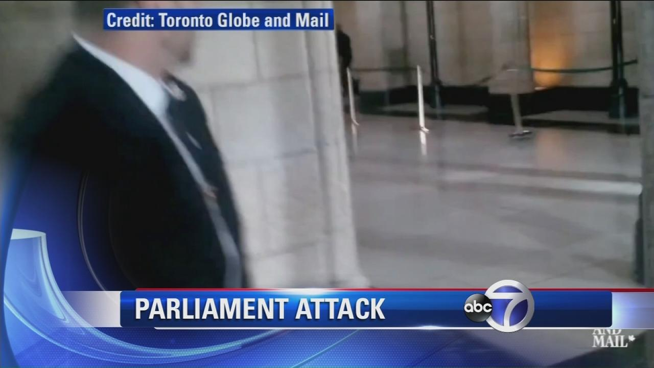 Parliament attack called act of terrorism by Canadas PM