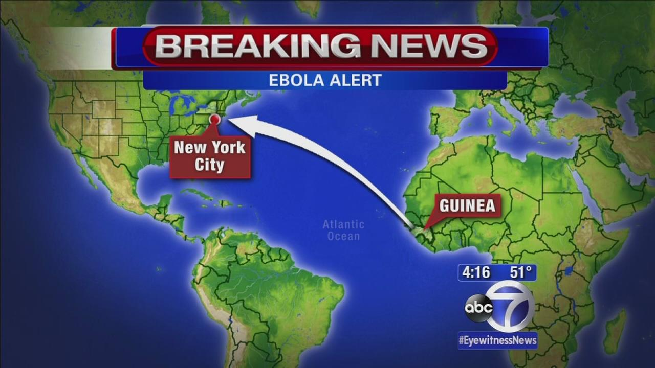 Testing underway for doctor with Ebola-like symptoms