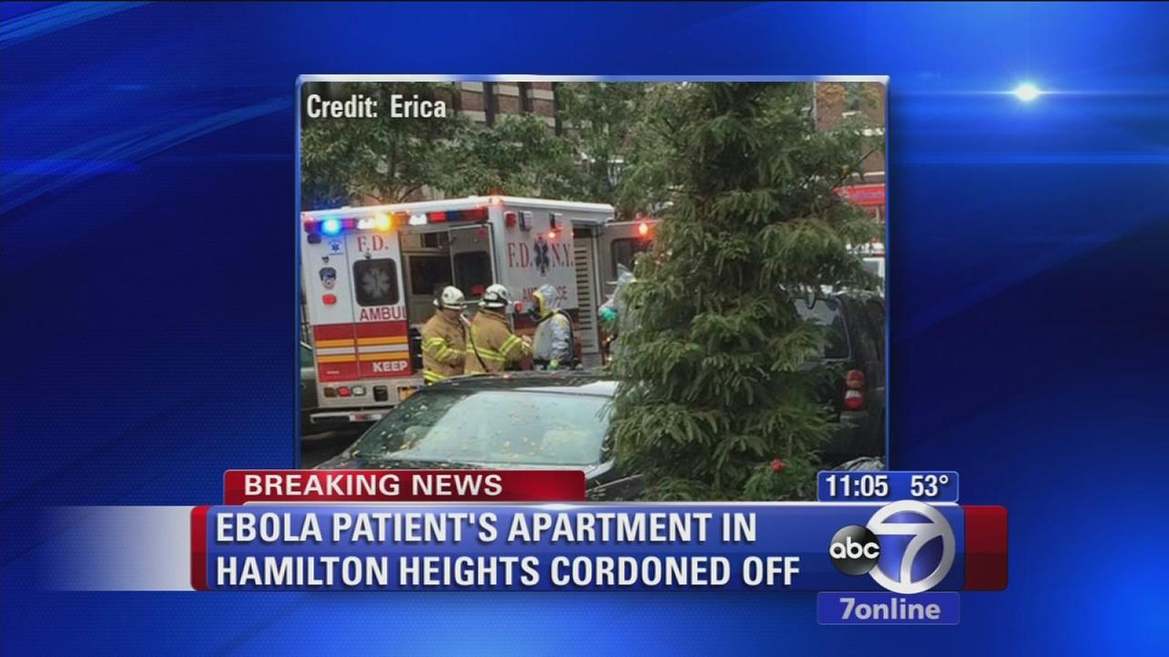 Neighbors concerned after doctor tests positive for Ebola
