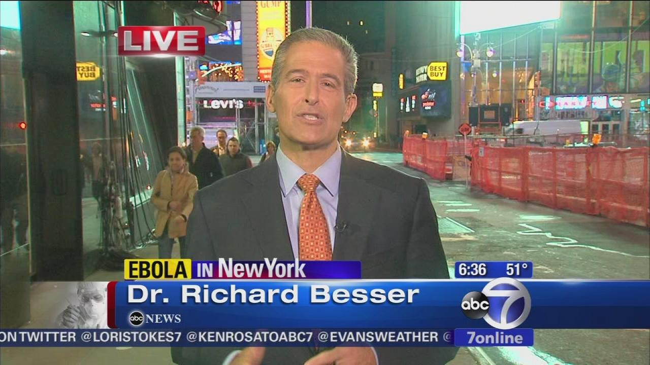 Dr. Rochard Besser on how contagious Ebola really is