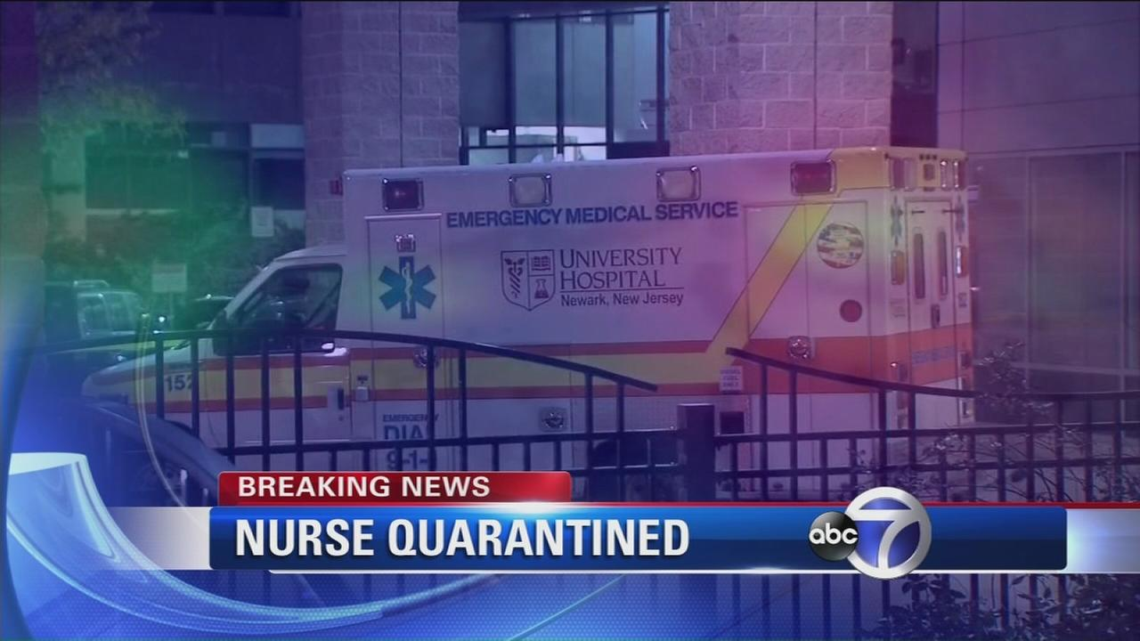 Quarantined nurse developed fever, being tested for Ebola