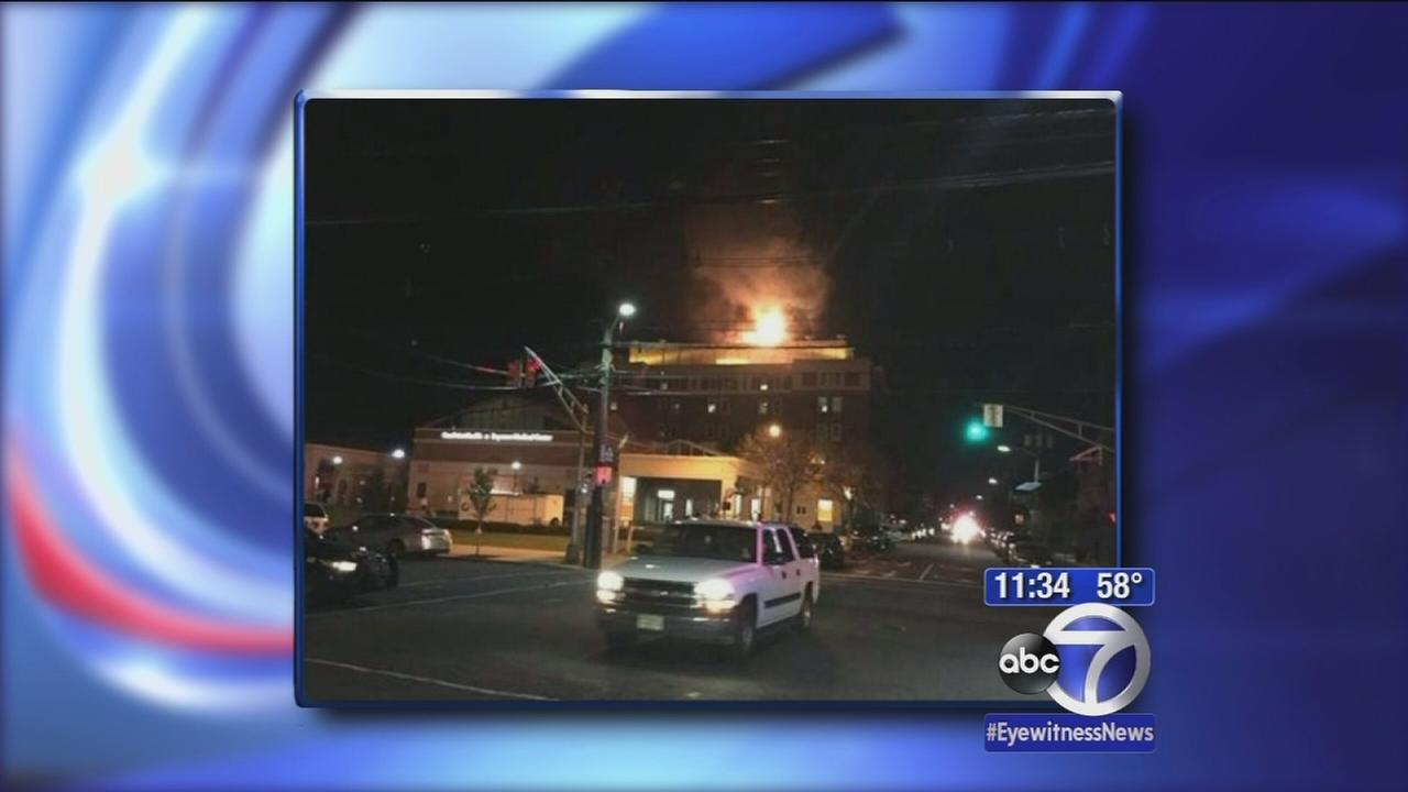 4-alarm fire burns at Bayonne Hospital