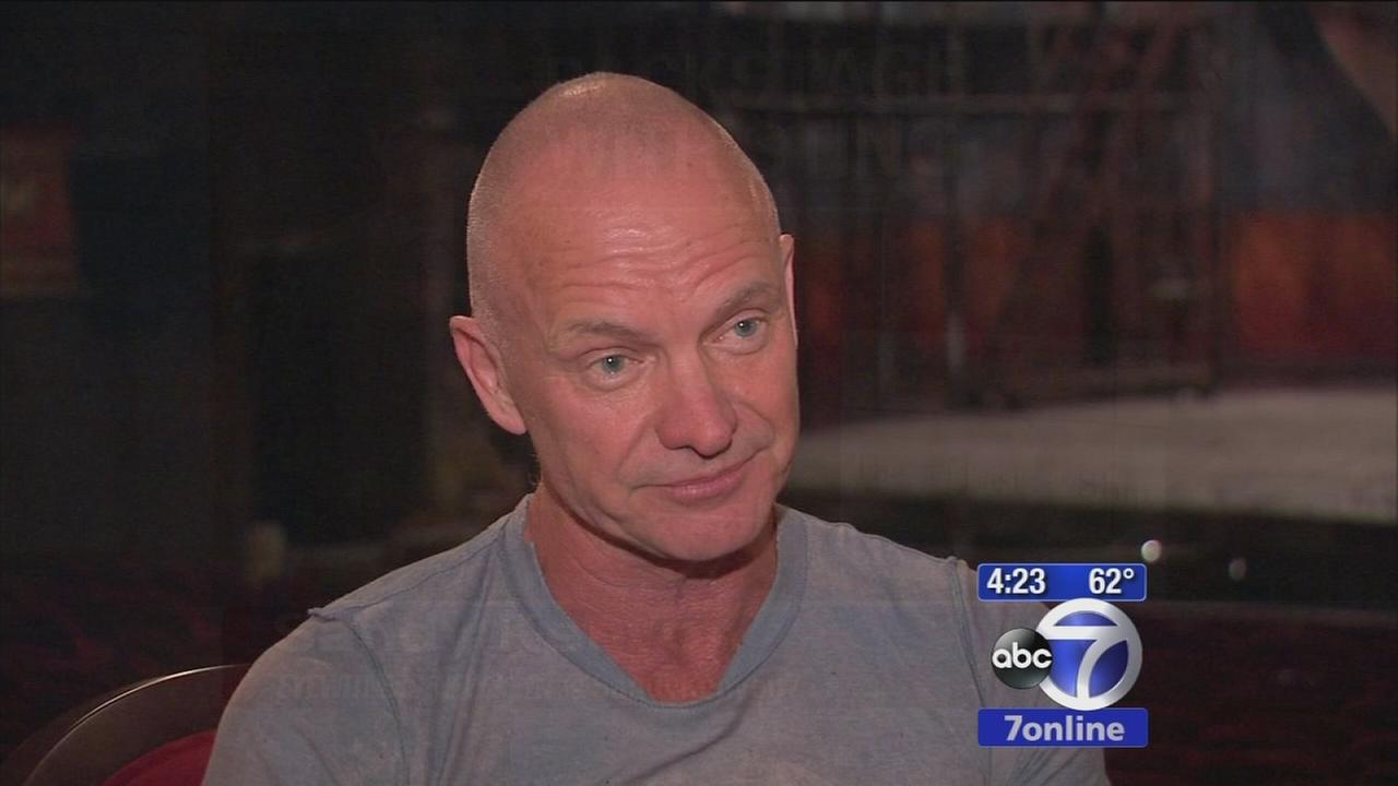 Exclusive interview with Sting on his new musical The Last Ship on Broadway