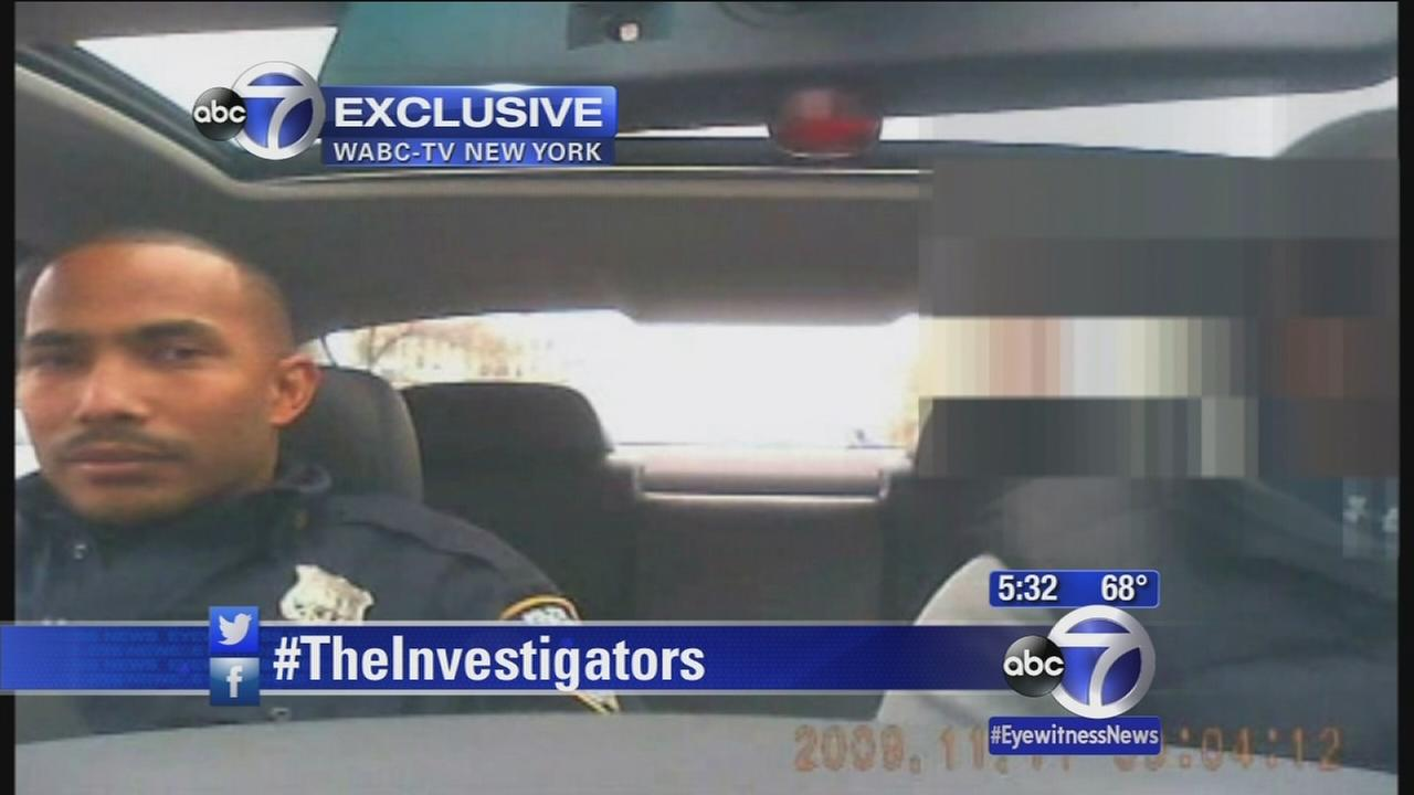 New video of NYPD officer accused of conspiring with drug dealer