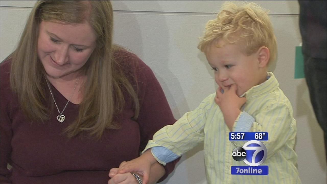 Boy born in church during Superstorm Sandy turning 2